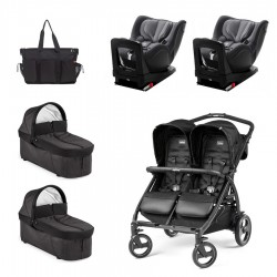 SUPERPACK GEMELOS Peg-perego Book For Two con Britax Römer Dualfix I-SIZE