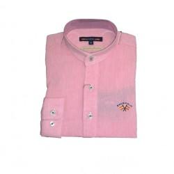 Camisa Spagnolo cuello mao lino liso 4600