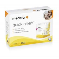 Bolsas para esterilizar microondas Medela QUICK CLEAN 5 unidades