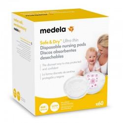Discos absorbentes desechables Medela 60 unidades