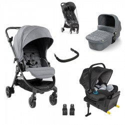 PACK I-SIZE TRIO Baby Jogger City Tour LUX con City GO I-SIZE y base I-size
