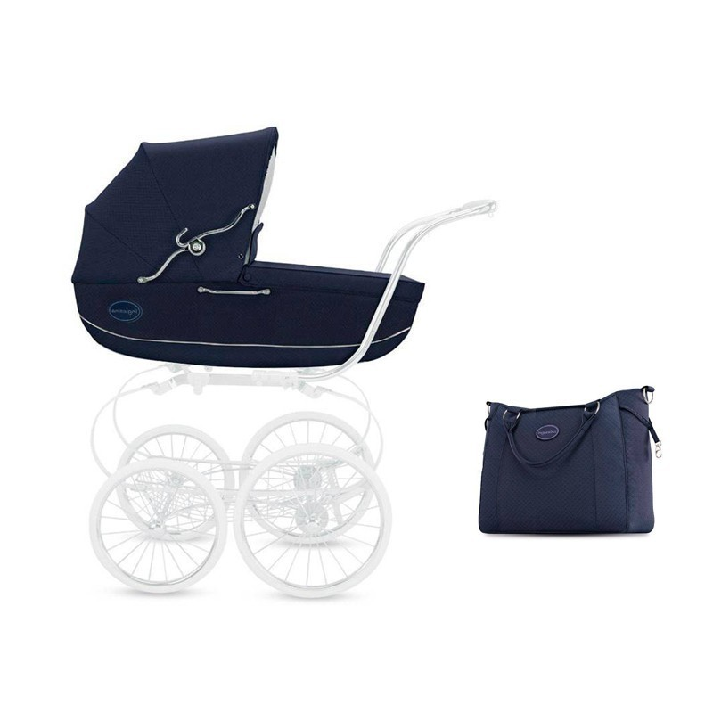 Classica Y Jacquard Blu Bolso Inglesina Capazo 54AjL3R