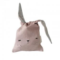 Bolsa Merienda Fabelab Bunny Bag Mauve