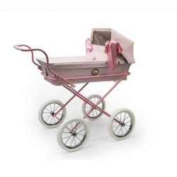 Cochecito de muñecas Bebelux Mini-Sweet  Chasis Rosa PERSONALIZABLE