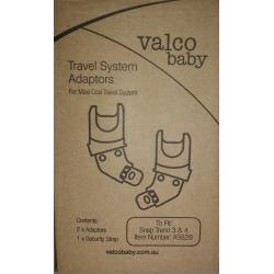 Adaptador Valco Baby Snap Trend 3/4 y Snap Duo Trend para Grupo 0