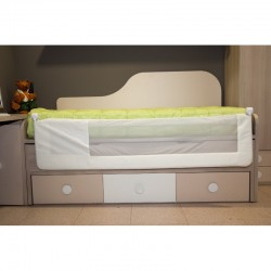 Barrera de cama abatible Mundi Bebe 180 cm Osito Beige