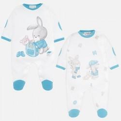 Set 2 pijamas Mayoral interlock