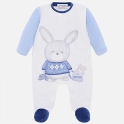 Pijama tundosado Mayoral serigrafiado