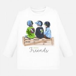 Camiseta Mayoral manga larga friends