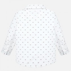 Camisa Mayoral manga larga jacquard