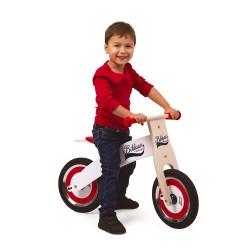 Bicicleta Janod Sin pedales Bikloon Rojo y Blanco