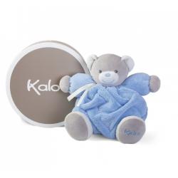 Oso Kaloo Plume Mediano 25 cm Azul