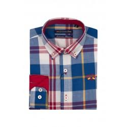 Camisa Spagnolo cuello boton popelin 4525