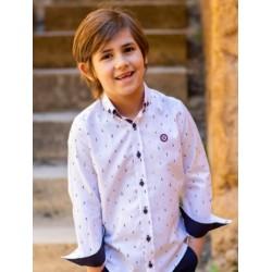 Camisa Nachete Estampado ajedrez