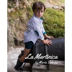Conjunto pantalón y camisa La Martinica Menta