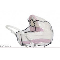 Plástico de lluvia para Cochecito Reborn Bebecar Mini Style