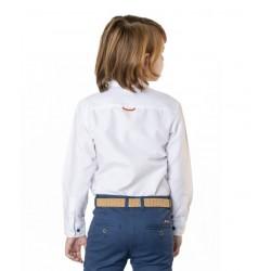 Camisa Spagnolo cuello boton básica oxford 4068