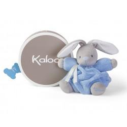 Conejo pequeño Kaloo Plume 18 cm Azul