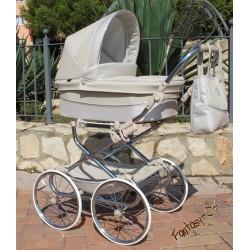 Cochecito para bebe Reborn Bytax ELITA FANTASY 04 Beige