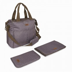 Bolso Cambiador Tuc Tuc Natural Baby Beige