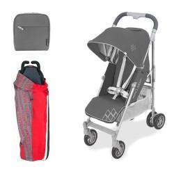 Silla paseo Maclaren Techno XT con bolso universal y bolsa de transport