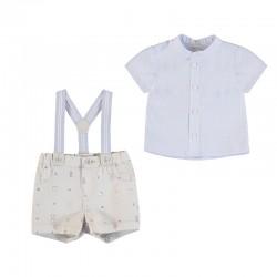 Conjunto Mayoral pantalon corto tirantes