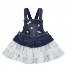 Falda peto Mayoral denim