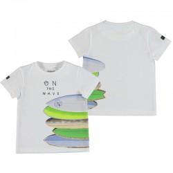 Camiseta Mayoral manga corta tablas