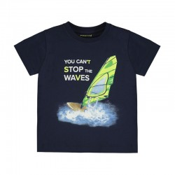 Camiseta Mayoral manga corta waves
