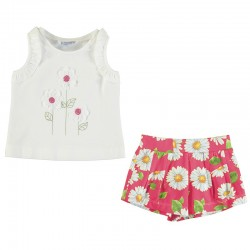 Conjunto short Mayoral margaritas