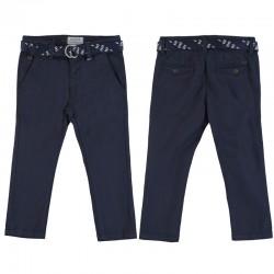 Pantalón chino pique Mayoral con cinturón