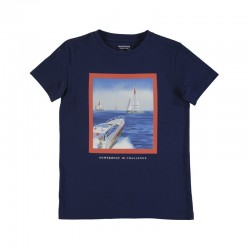 Camiseta Mayoral manga corta powerboat