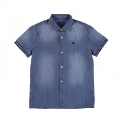 Camisa Mayoral manga corta denim