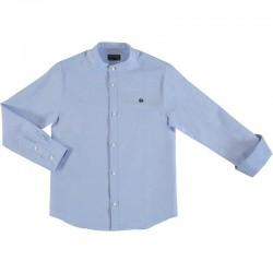 Camisa Mayoral manga larga lino cuello mao