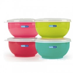 Set Bol Acero Inox COLOURS & FLAVOURS
