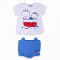Conjunto camiseta punto y boxer Tuc Tuc Sun and Sea