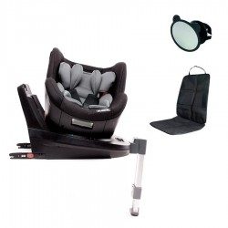 PACK Silla Auto Baby Monsters Titan Fix 0+-1-2-3 con espejo y salva asiento