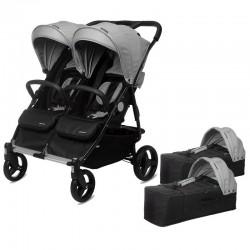 PACK Gemelos Silla Paseo Playxtrem Baby Twin
