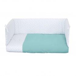 Set Téxtil Colecho Alondra 50x80 Colchita y protector 4 lados (sin colchón)