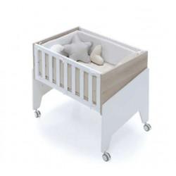 Minicuna Colecho Alondra EQUO LIFE con Set Téxtil y colchón