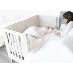 Cuna Bebé y Escritorio Alondra  60x120 cm 2 en 1 NEXO