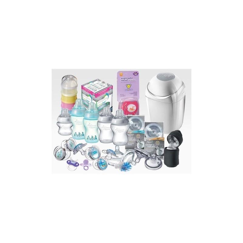 Kit recién nacido Tommee Tippee con 25 productos