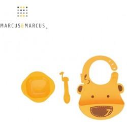 Set babero, cuenco y cuchara Marcus & Marcus