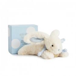 Dulce conejito azul 20 cm DouDou et Compagnie
