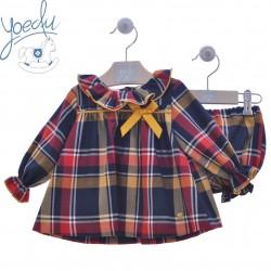 Vestido bebé con pololo Yoedu Atelier