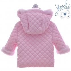 Abrigo bebé con capucha Yoedu