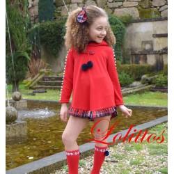 Vestido Felpa Lolittos Christmas
