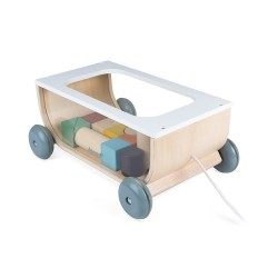 Carrito 17 cubos Janod Sweet Cocoon