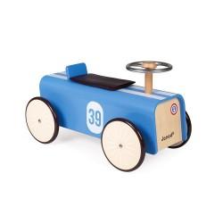 Correpasillos de madera Janod RACER con volante de metal
