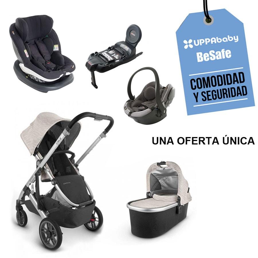 UPPAbaby Cochecito de bebé de tamaño completo compacto y versátil, Cruz V2, Rosado